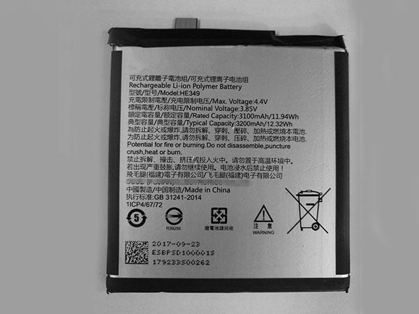 Batterie interne smartphone HE349