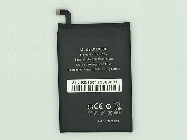 Batterie interne smartphone K10000