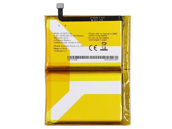 Batterie interne smartphone K10000_MAX