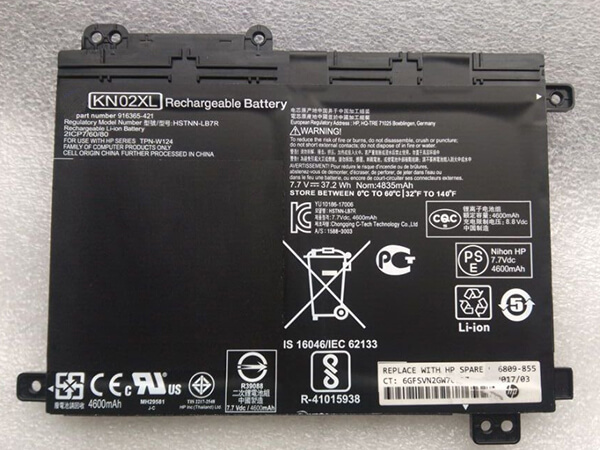 Batterie ordinateur portable KN02XL
