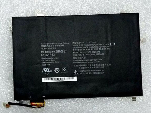 Batterie interne tablette L11C4P32