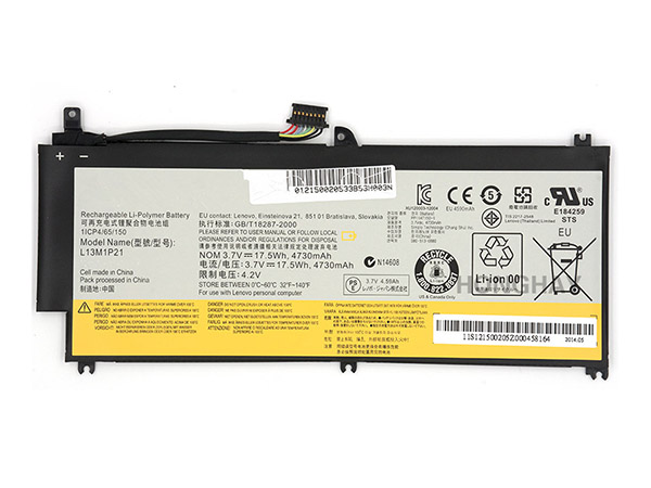 Batterie interne tablette L13L1P21