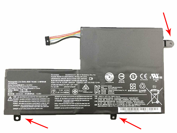 Batterie interne tablette L15C3PB1
