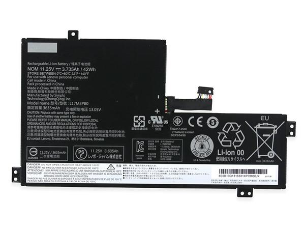Batterie ordinateur portable L17M3PB0