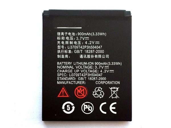 Batterie interne smartphone Li3709T42P3h504047