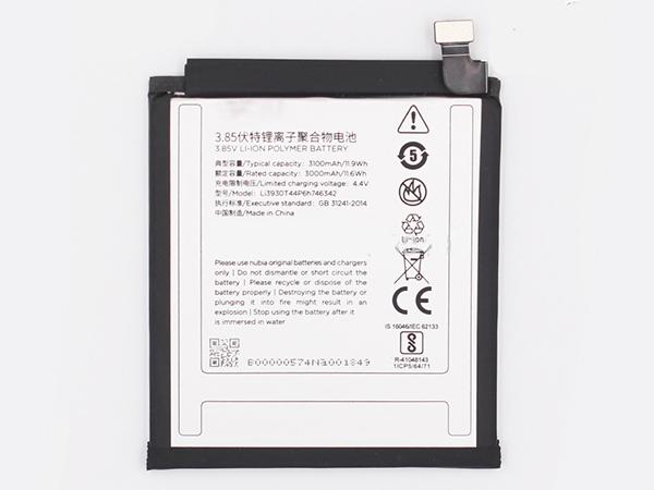 Batterie interne smartphone Li3930T44P6h746342