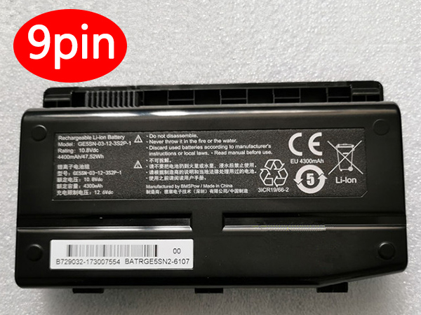 Batterie ordinateur portable GE5SN-00-01-3S2P-1