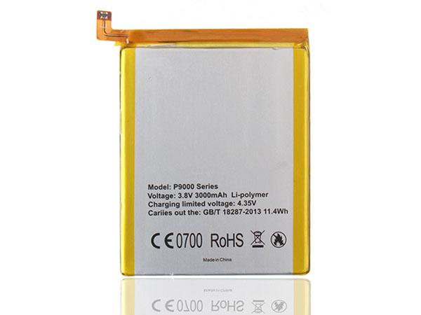 Batterie interne smartphone P9000