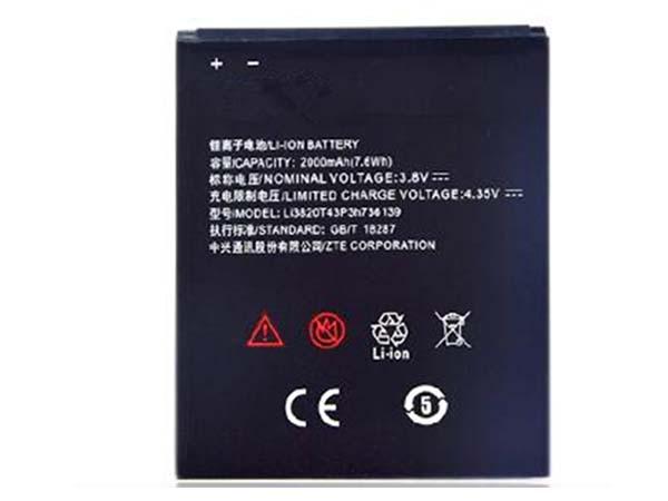 Batterie interne smartphone Li3820T43P3h736139