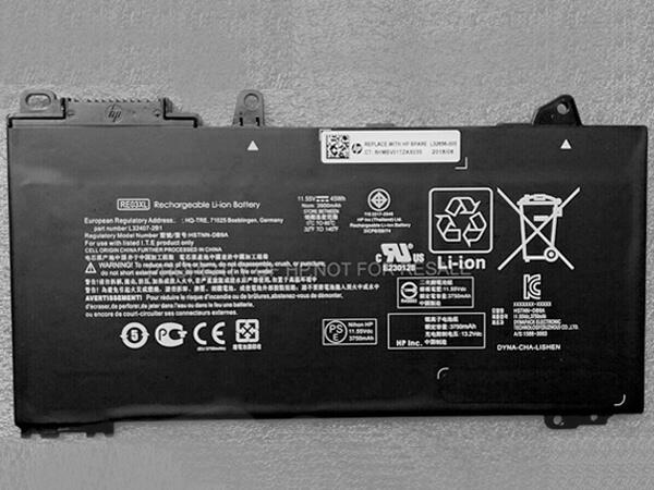 Batterie ordinateur portable RE03XL