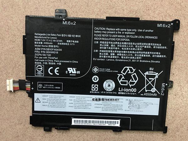 Batterie ordinateur portable SB10F46456_00HW018