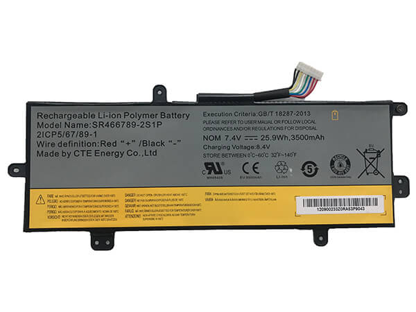 Batterie interne tablette SR466789-2S1P