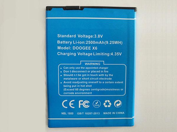 Batterie X6_Pro