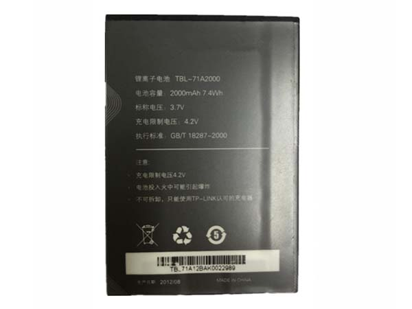 Batterie interne TBL-71A2000