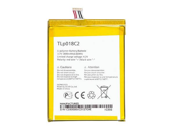 Batterie interne smartphone TLP018C2