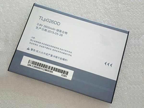 Batterie interne smartphone TLp026DD