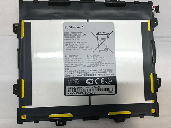 Batterie interne tablette TLp046A2