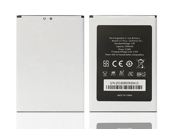 Batterie interne smartphone 1ICP4/62/91