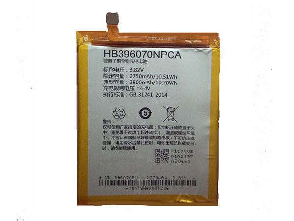 Batterie interne smartphone HB396070NPCA